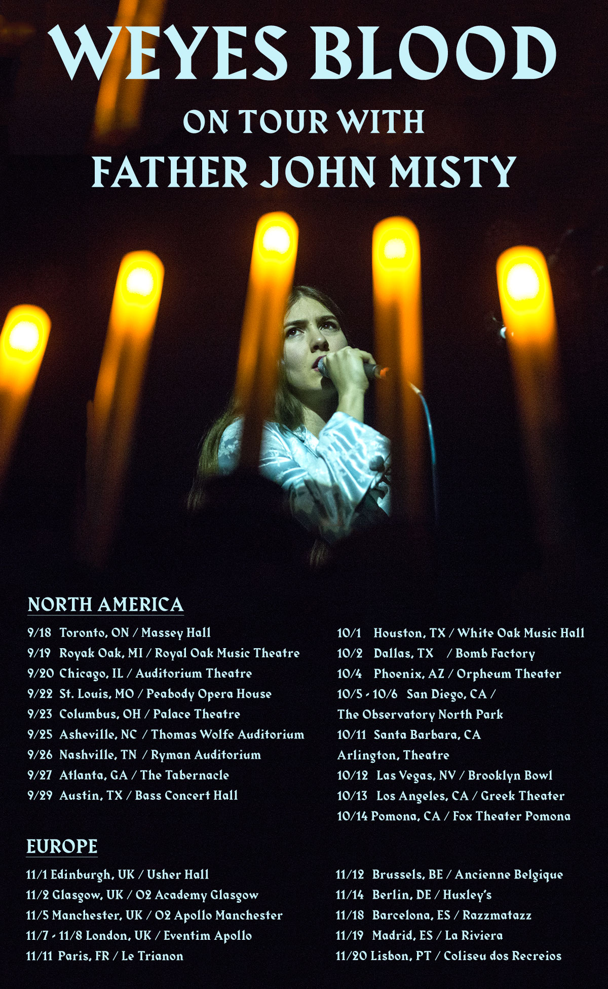 Weyes Blood Father John Misty Tour