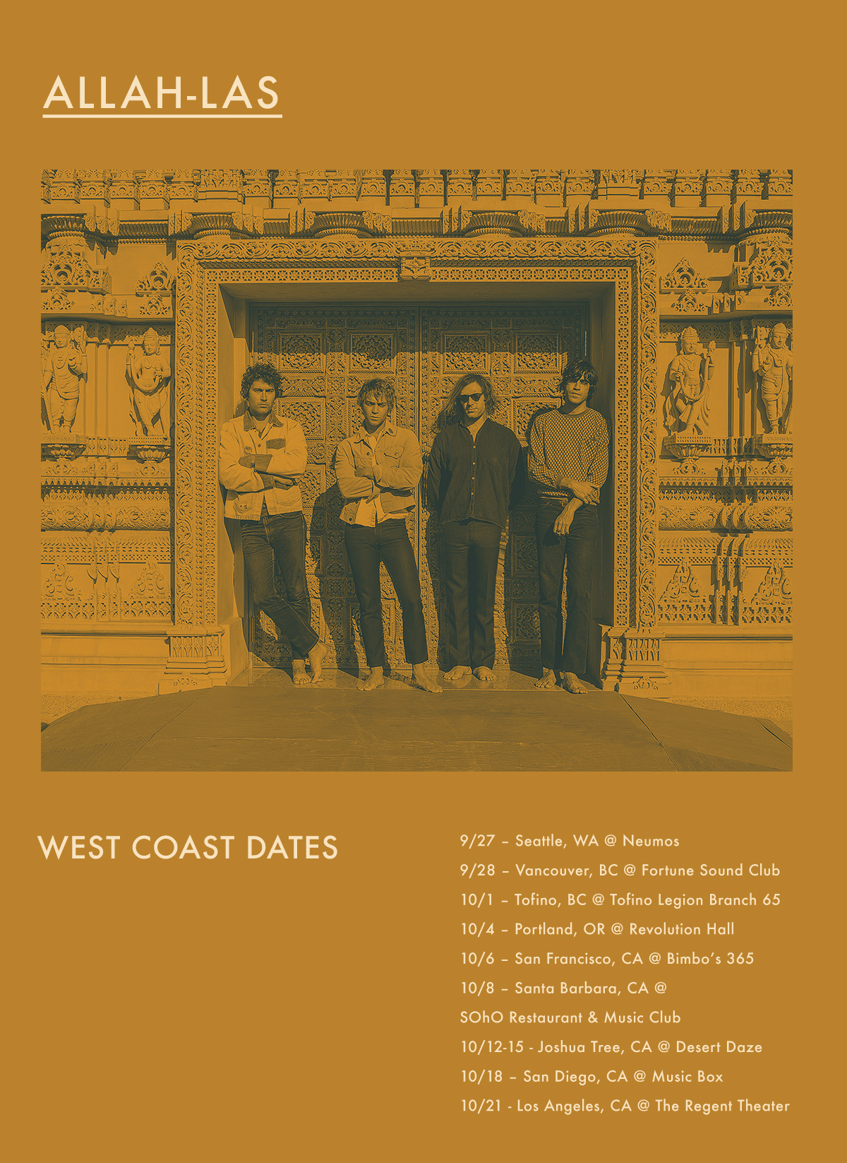 Allah-Las Tour Dates
