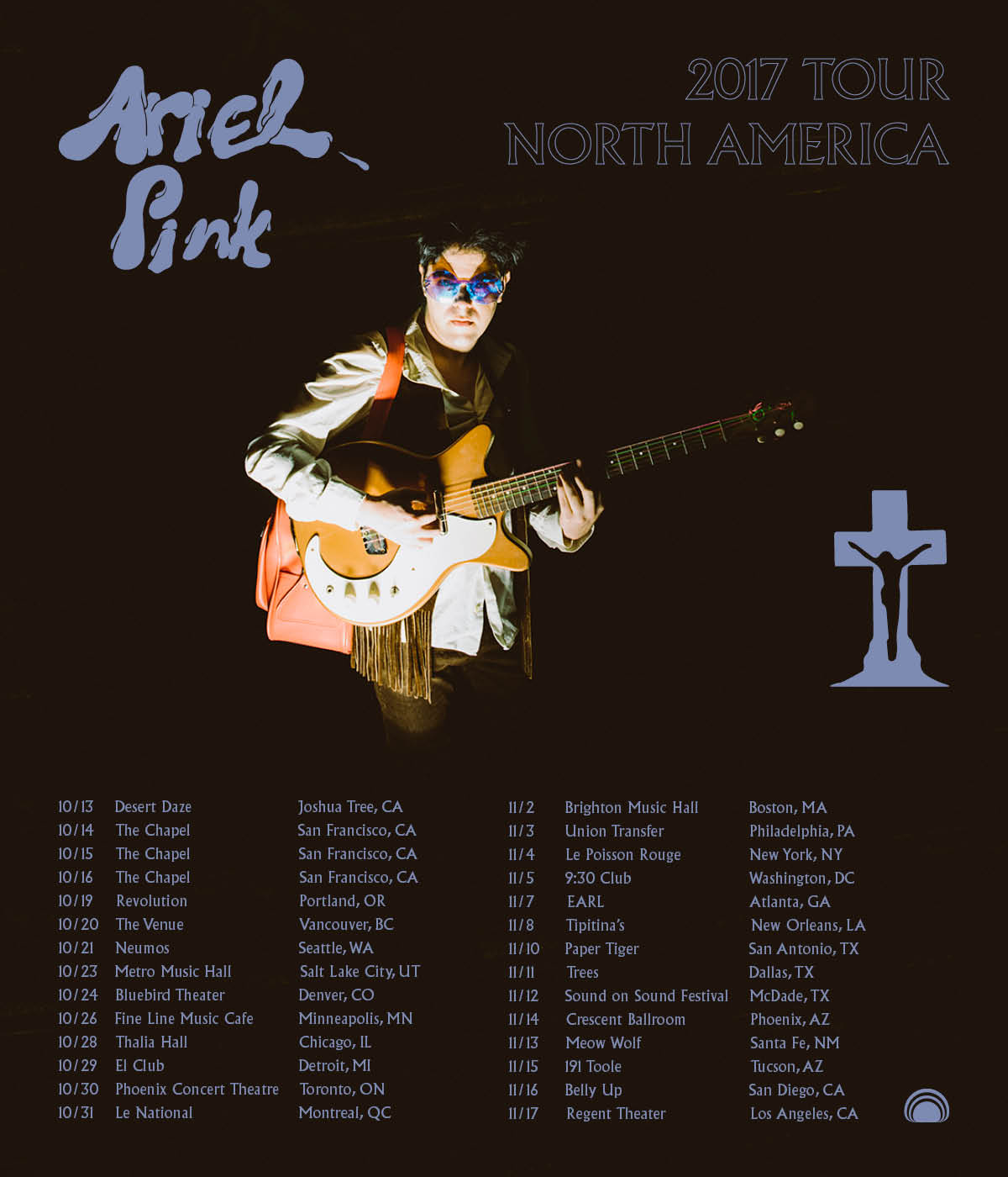 Ariel Pink - 2017 North American Tour Dates