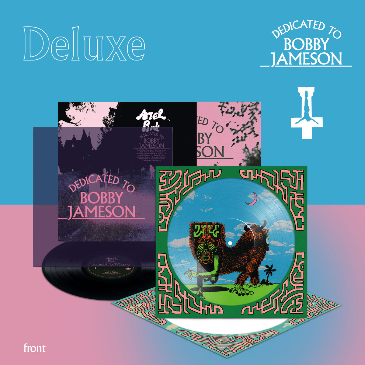ariel pink dedicated to bobby jameson deluxe LP