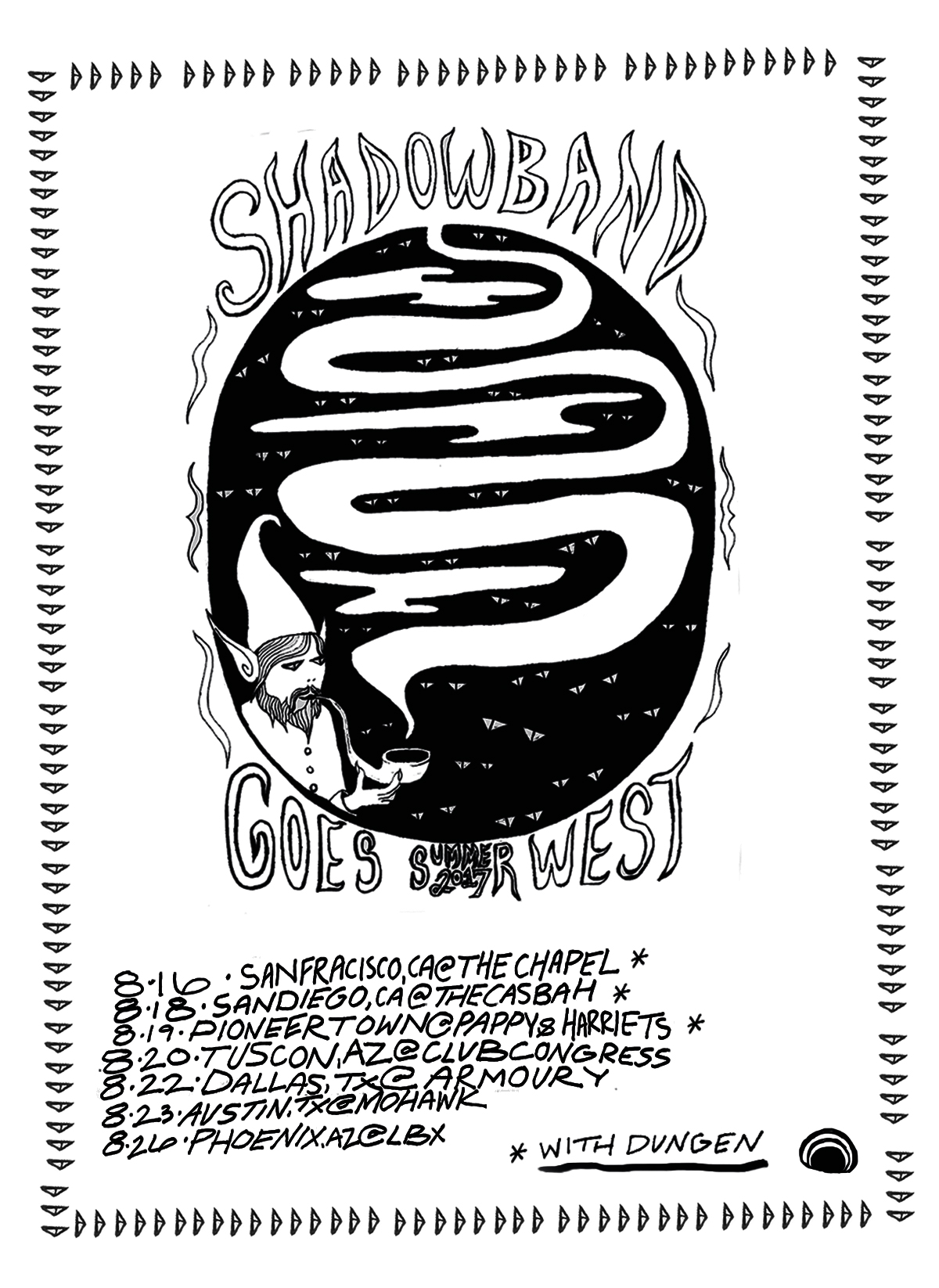 Shadow Band New August Tour Dates