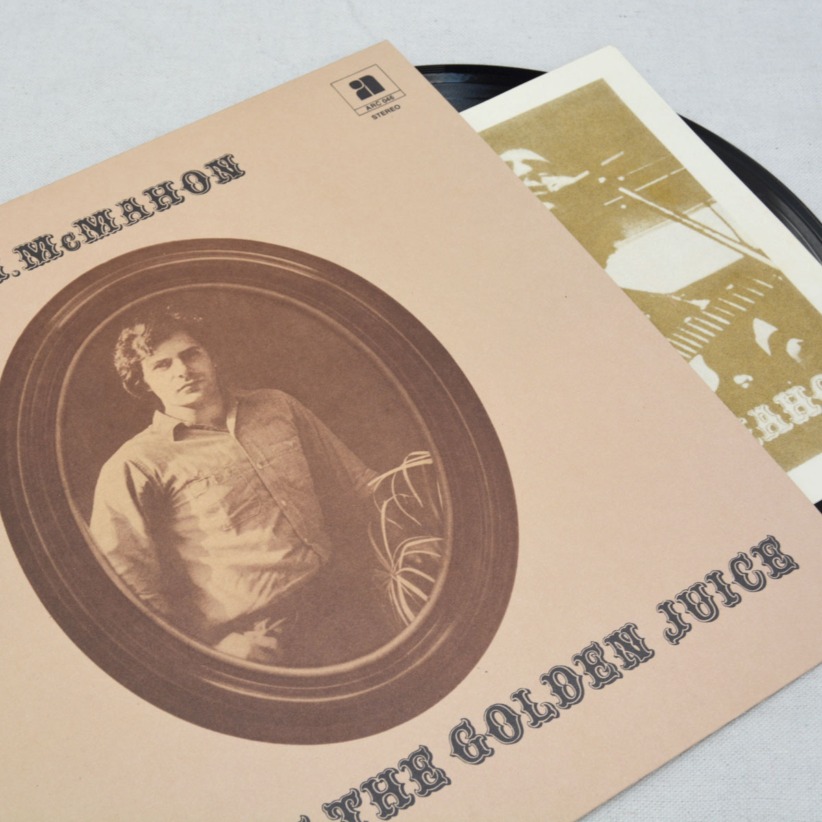 F.J. McMahon - Spirit of the Golden Juice LP booklet