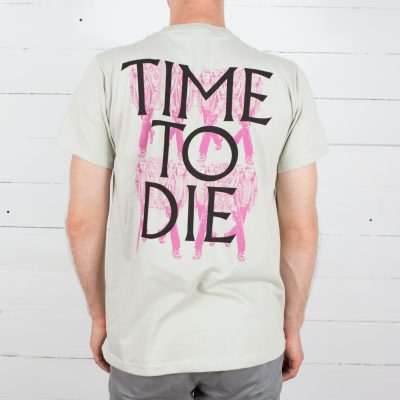 Ariel Pink T-shirt - Time To Live/ Time To Die back