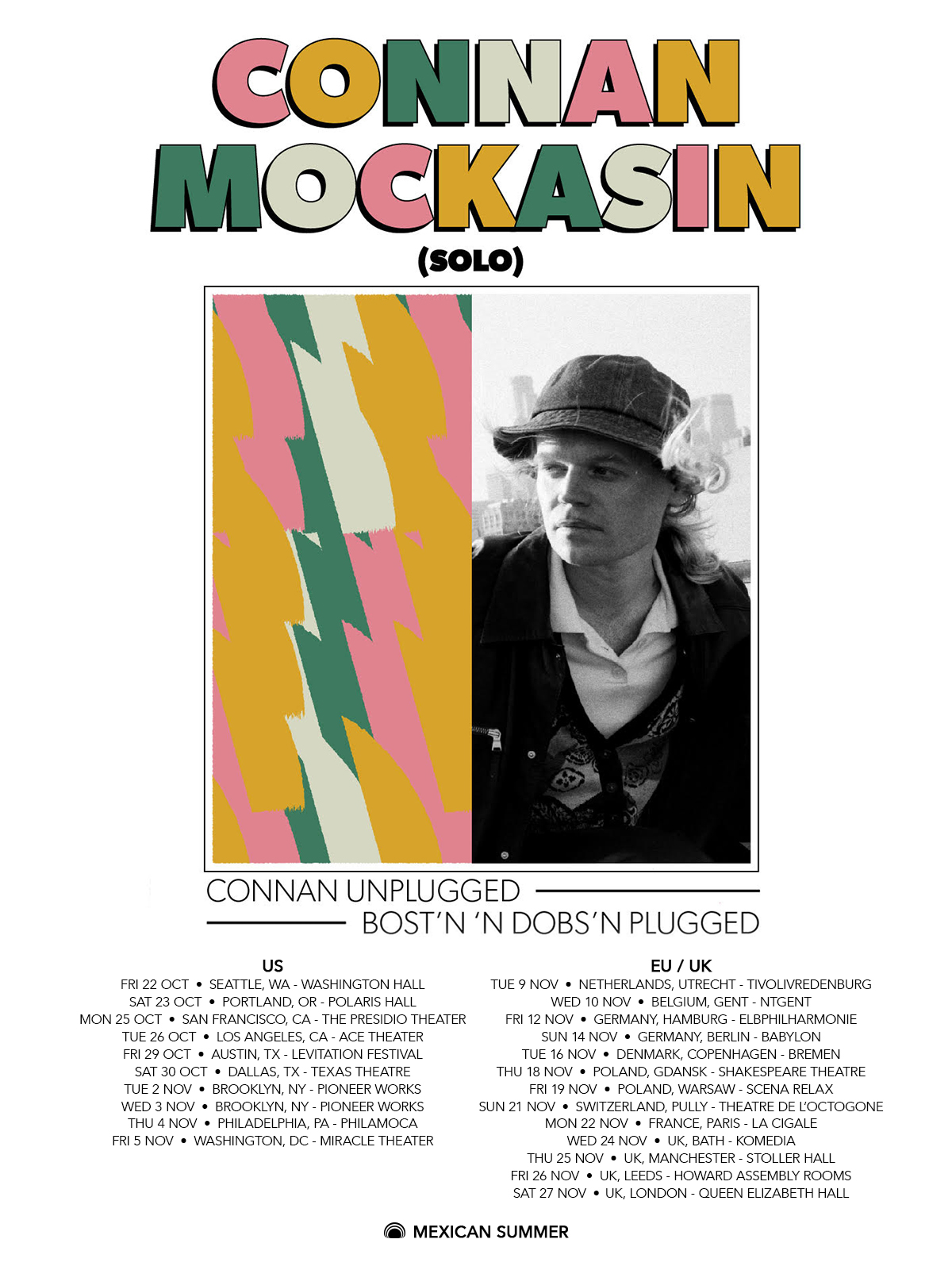 connan mockasin tour poster