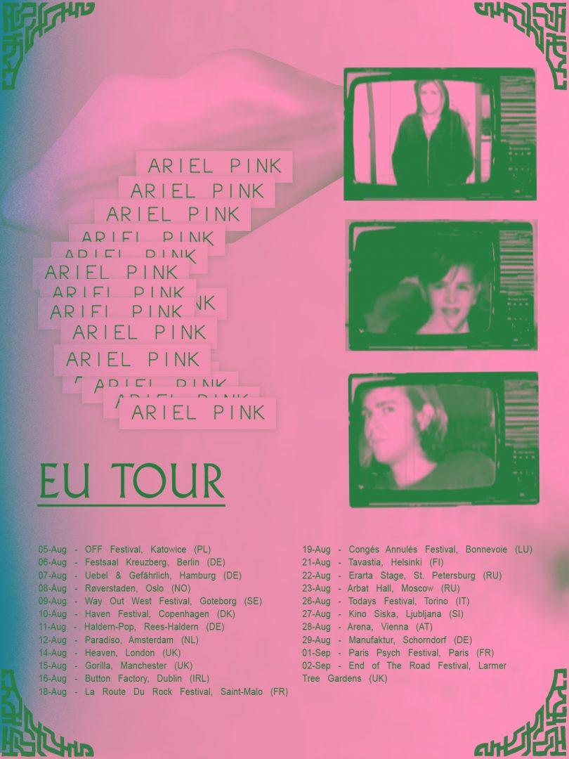 Ariel Pink - Europe Tour 2018