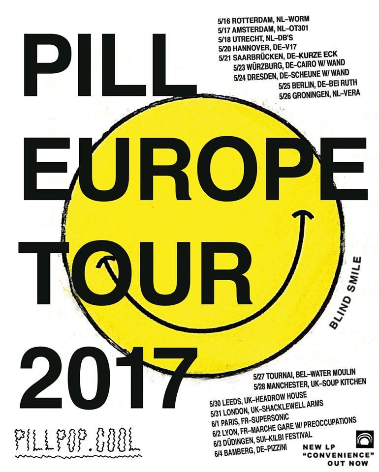 Pill Europe Tour 2017