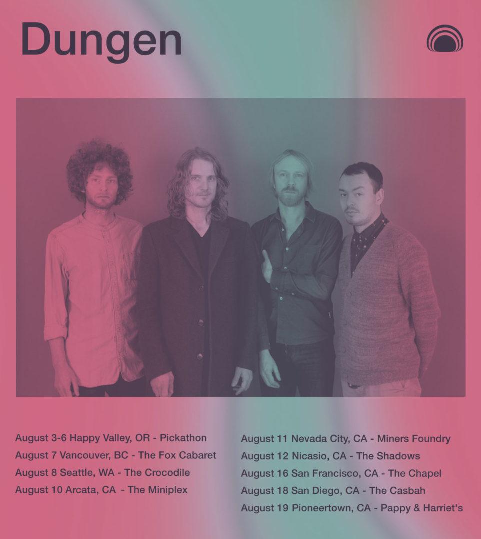 dungen west coast tour dates