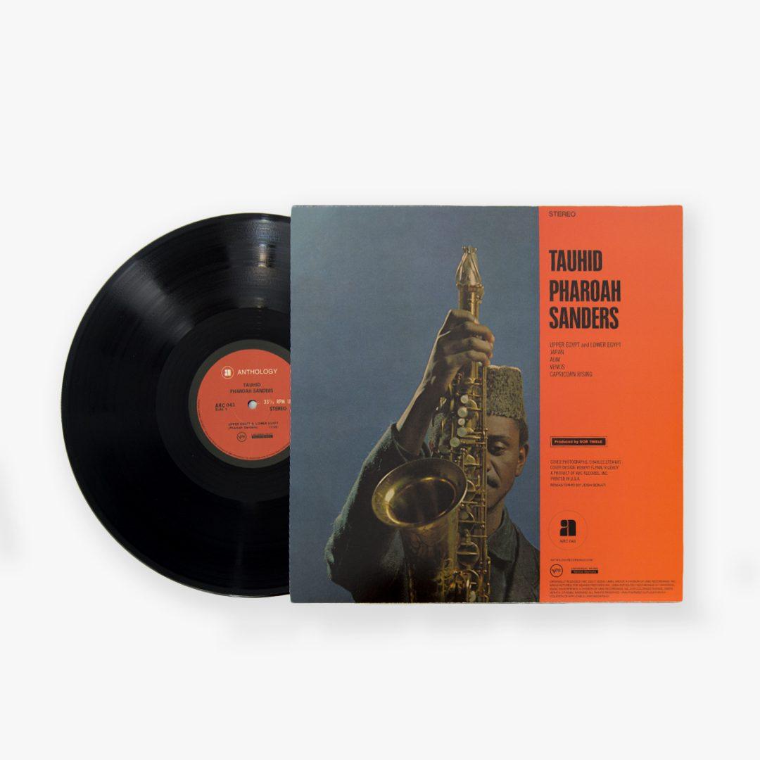 Pharoah Sanders - Tauhid LP back