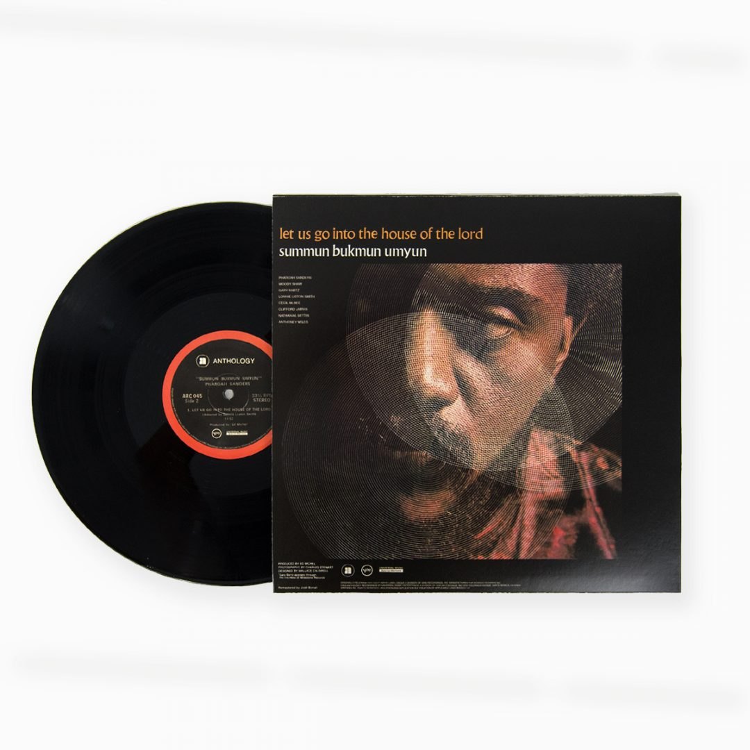 Pharoah Sanders - Deaf Dumb Blind (Summun Bukmun Umyun) LP front