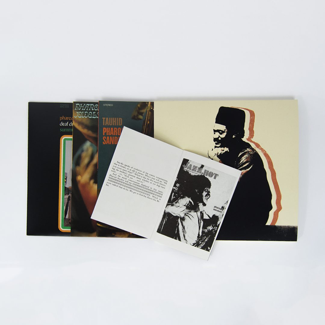 Pharoah Sanders reissue Deluxe LP Bundle
