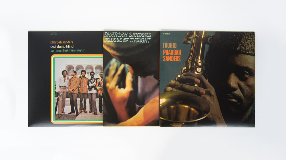 Pharoah Sanders - Anthology Recordings Deluxe LP Bundle