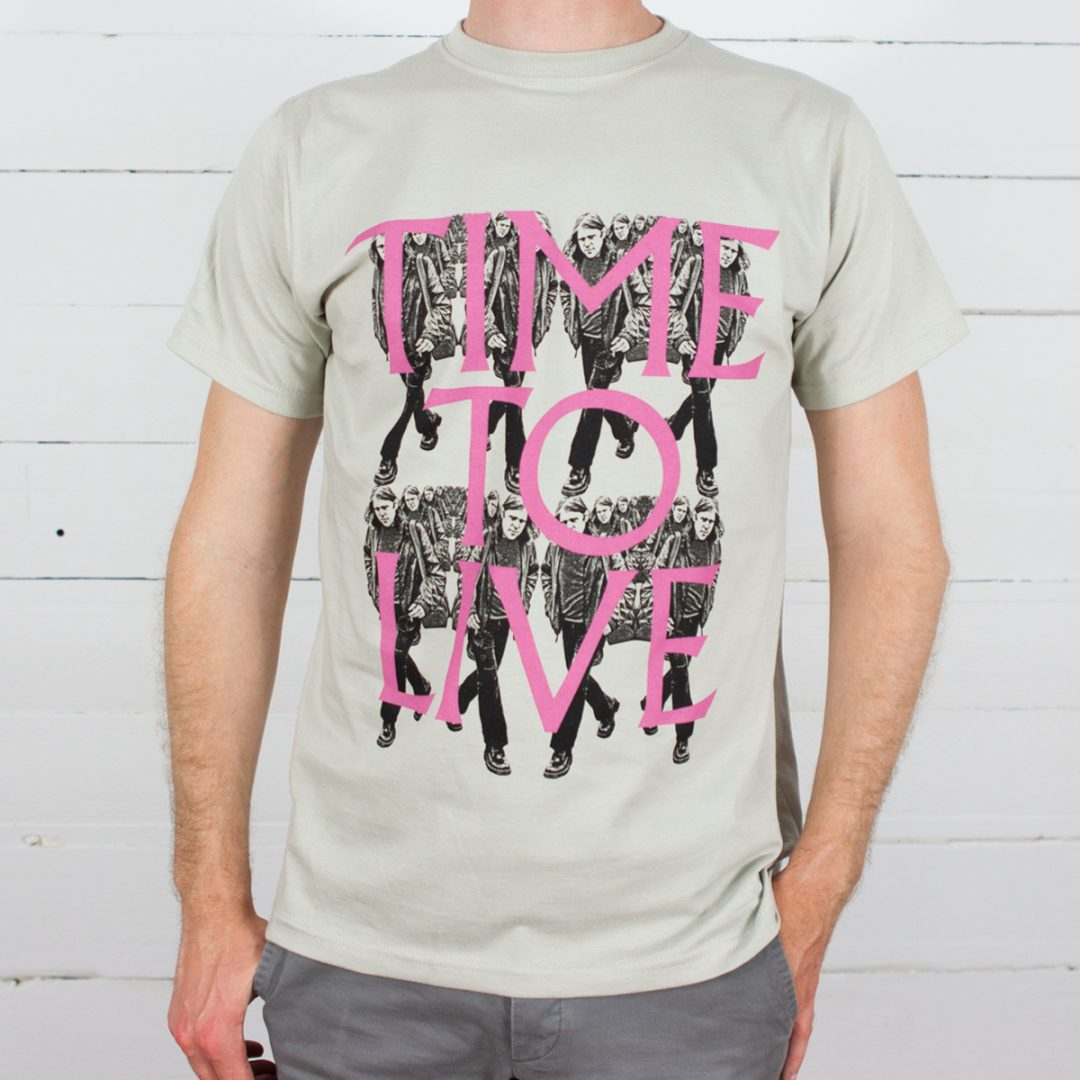 Ariel Pink T-shirt - Time To Live/Time To Die