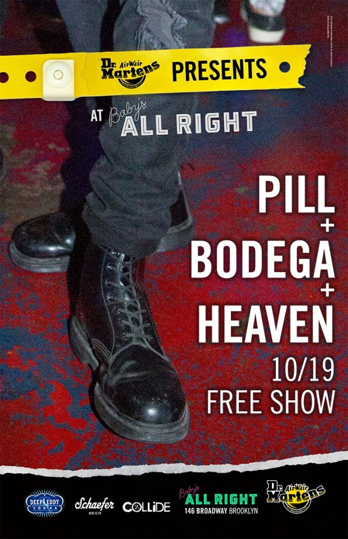 Pill @ Baby's All Right