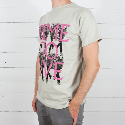 Ariel Pink T-shirt - Time To Live/ Time To Die side