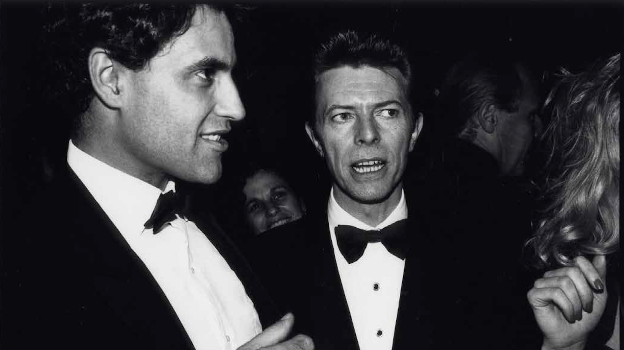 Altered States: Julio Santo Domingo with David Bowie