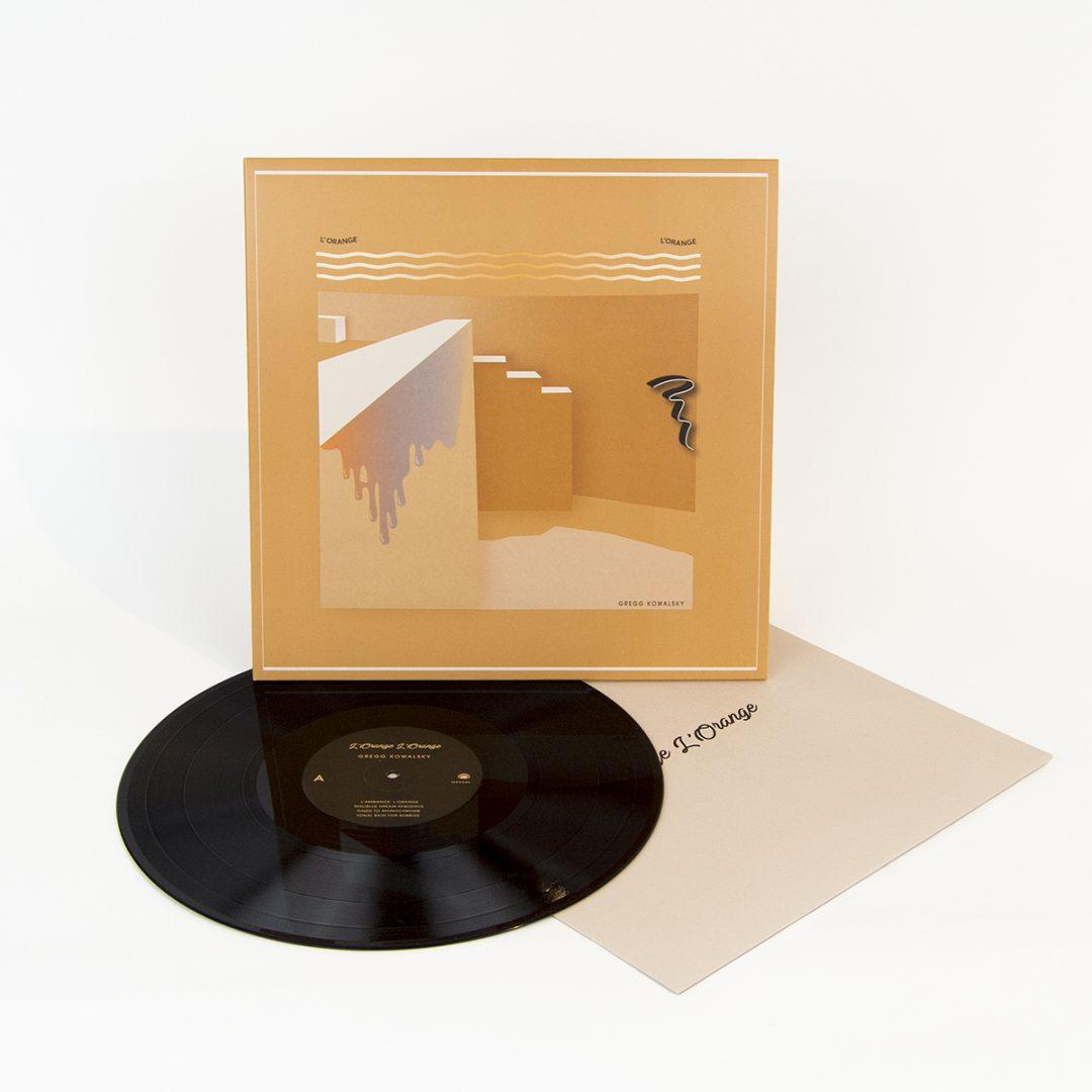 Gregg Kowalsky - L'Orange, L'Orange LP front