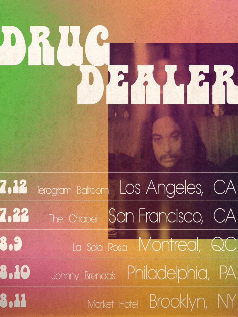 Drugdealer Summer Tour 2018 Poster