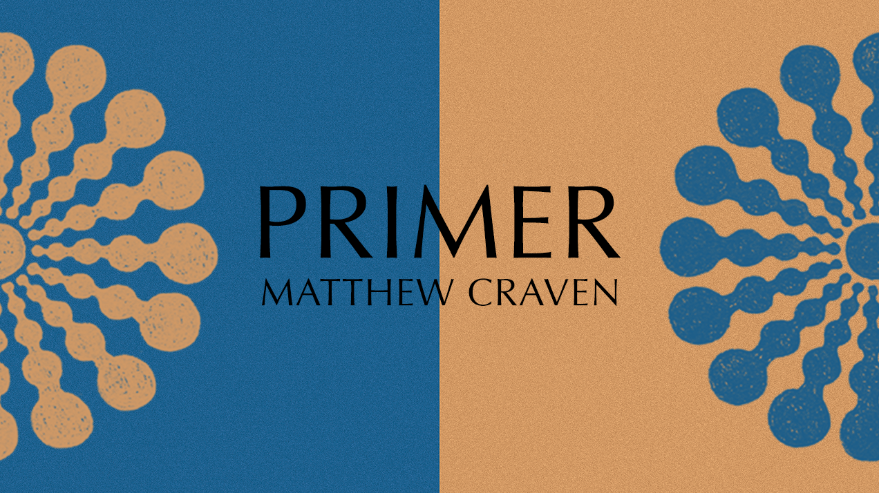Matthew Craven - Primer - Book Banner