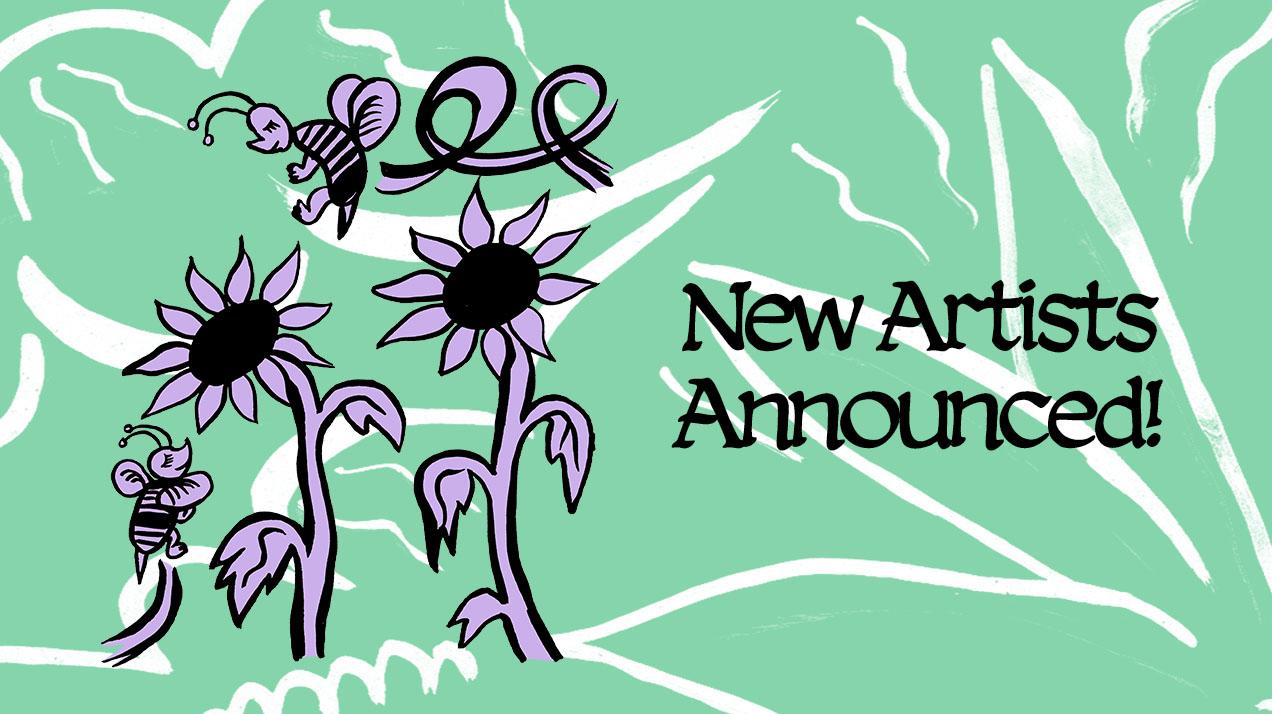 Marfa Myths 2019 New Artist Announce Banner