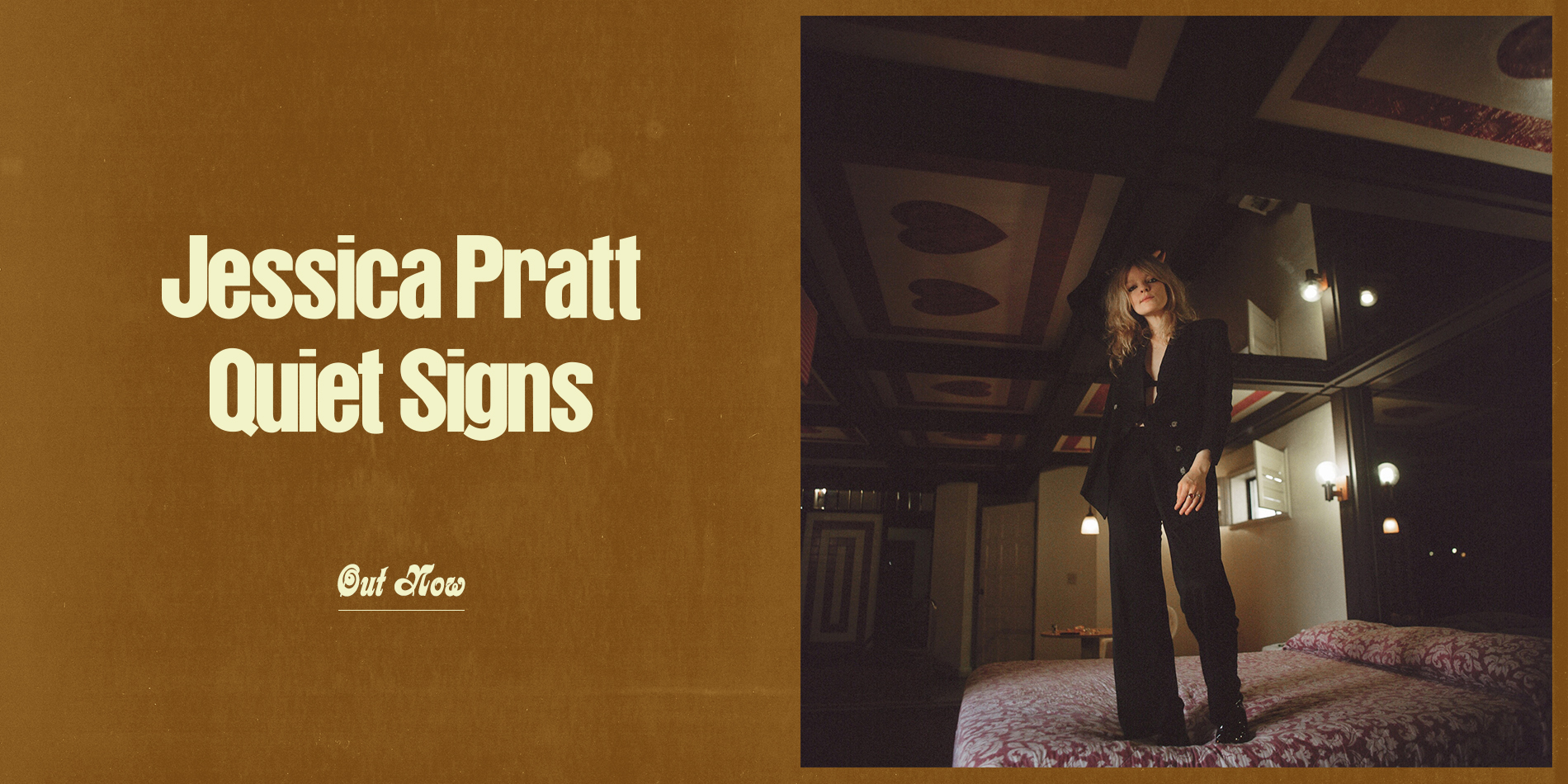 Jessica Pratt Quiet Signs Out Now Site Banner