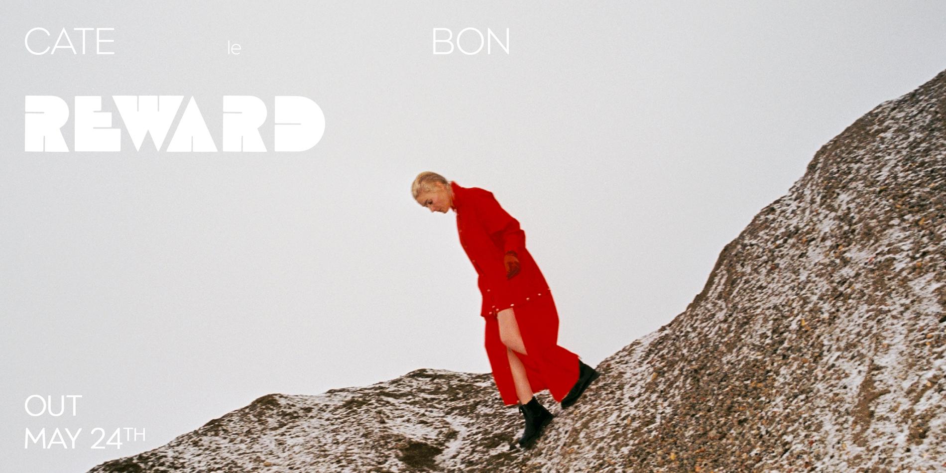 Cate Le Bon Reward Announce Banner