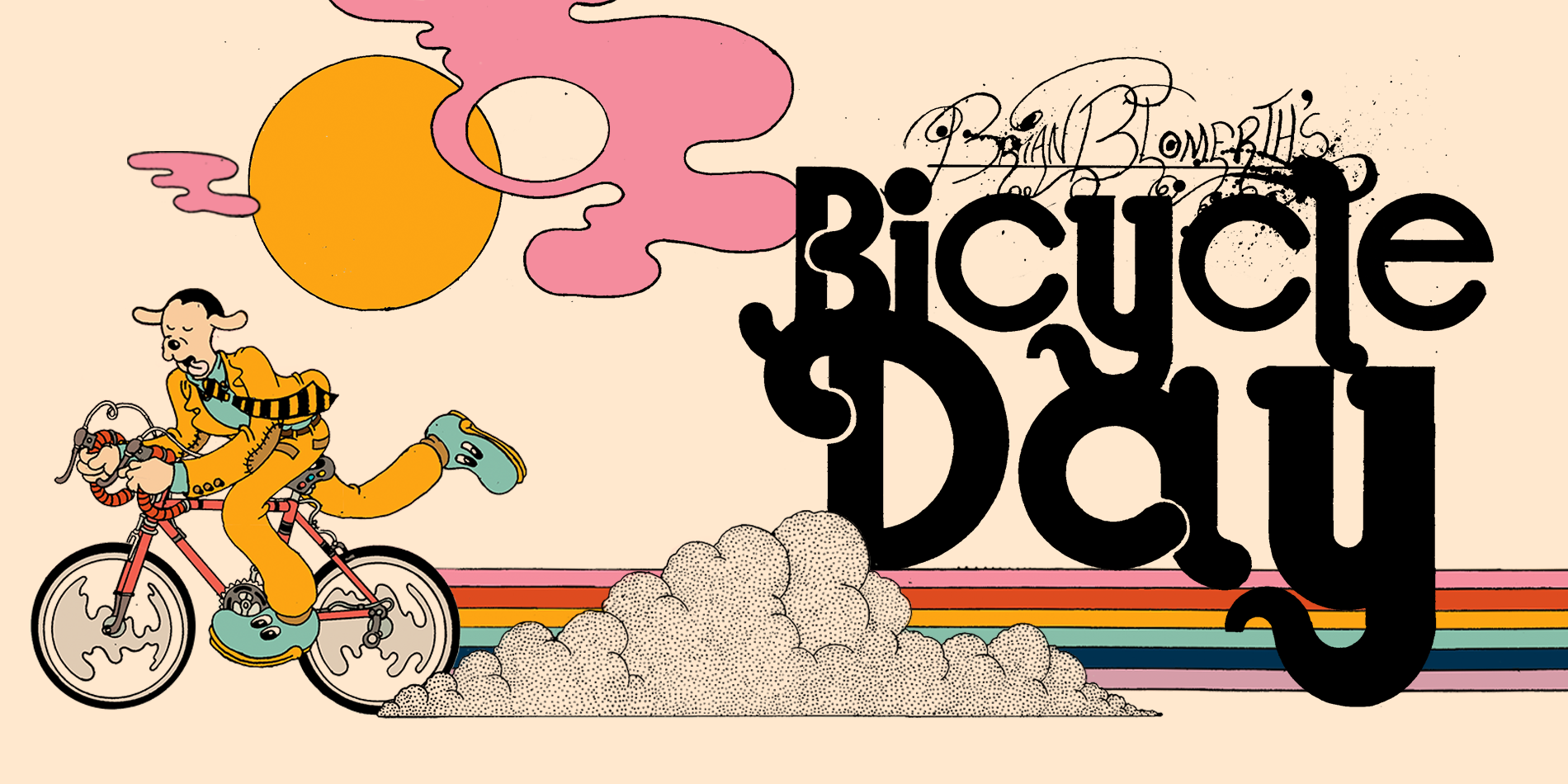 Brian Blomerth's Bicycle Day Site Banner