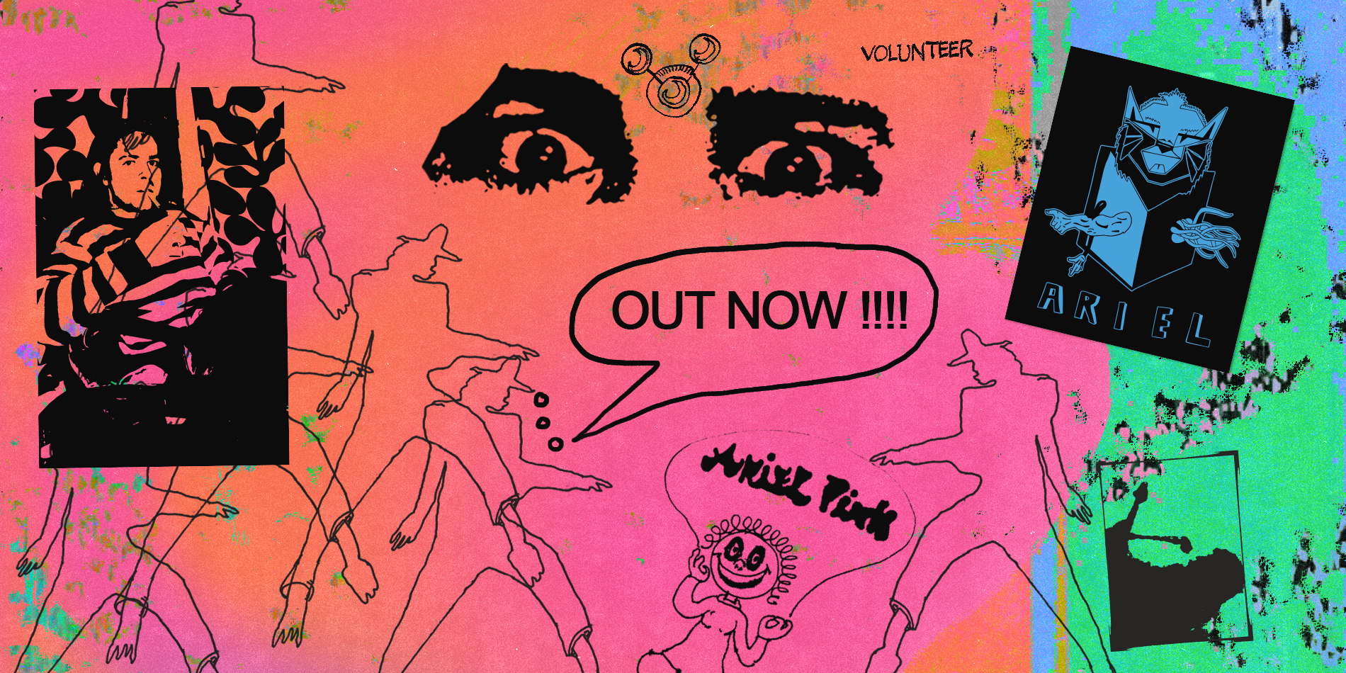 Ariel Pink Archives Site Banner