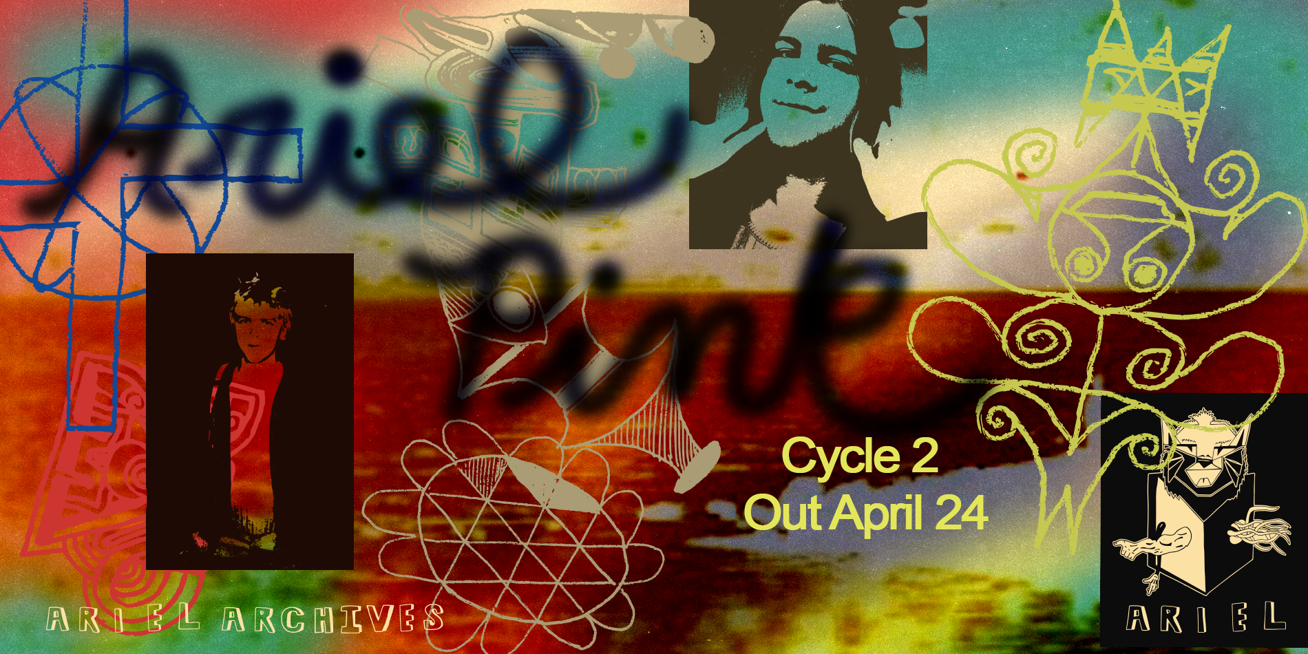 ariel pink archive cycle 2 site banner
