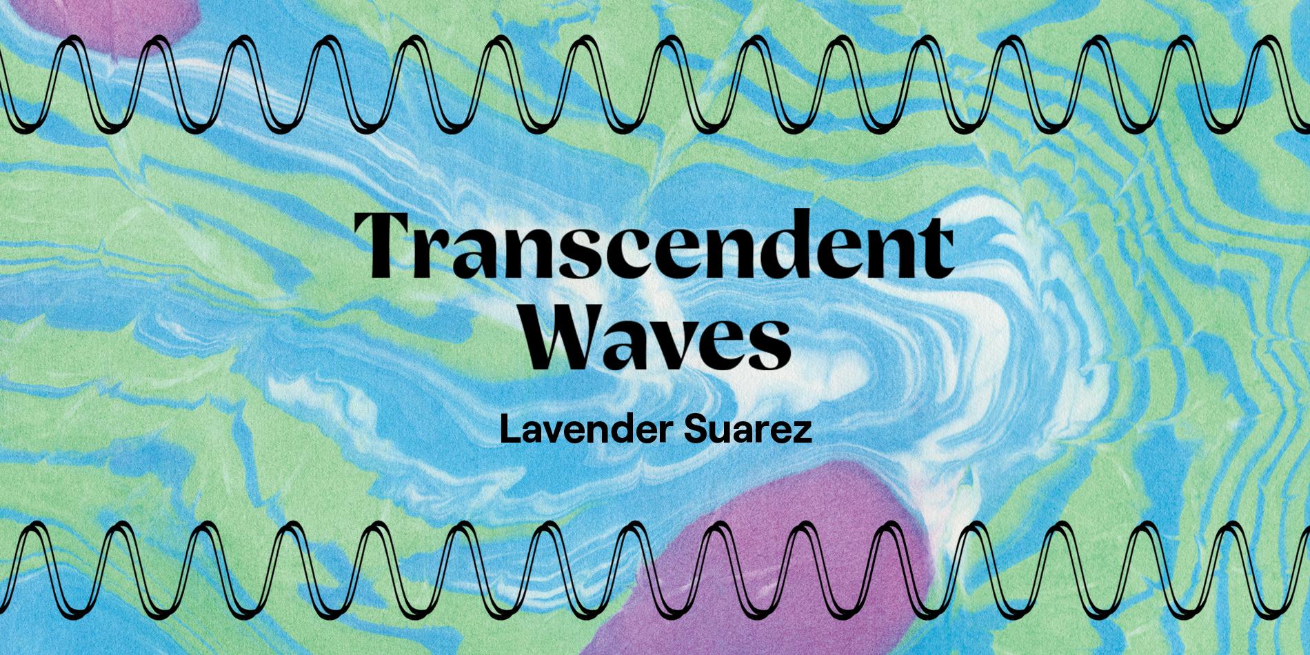 Lavender Suarez Transcendent Waves Site Banner