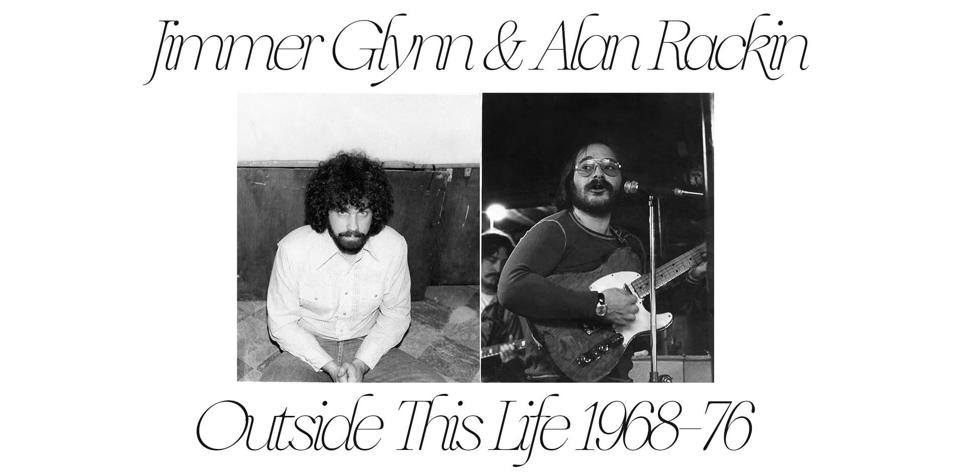 Jimmer Glynn & Alan Rackin Outside This Life Site Banner