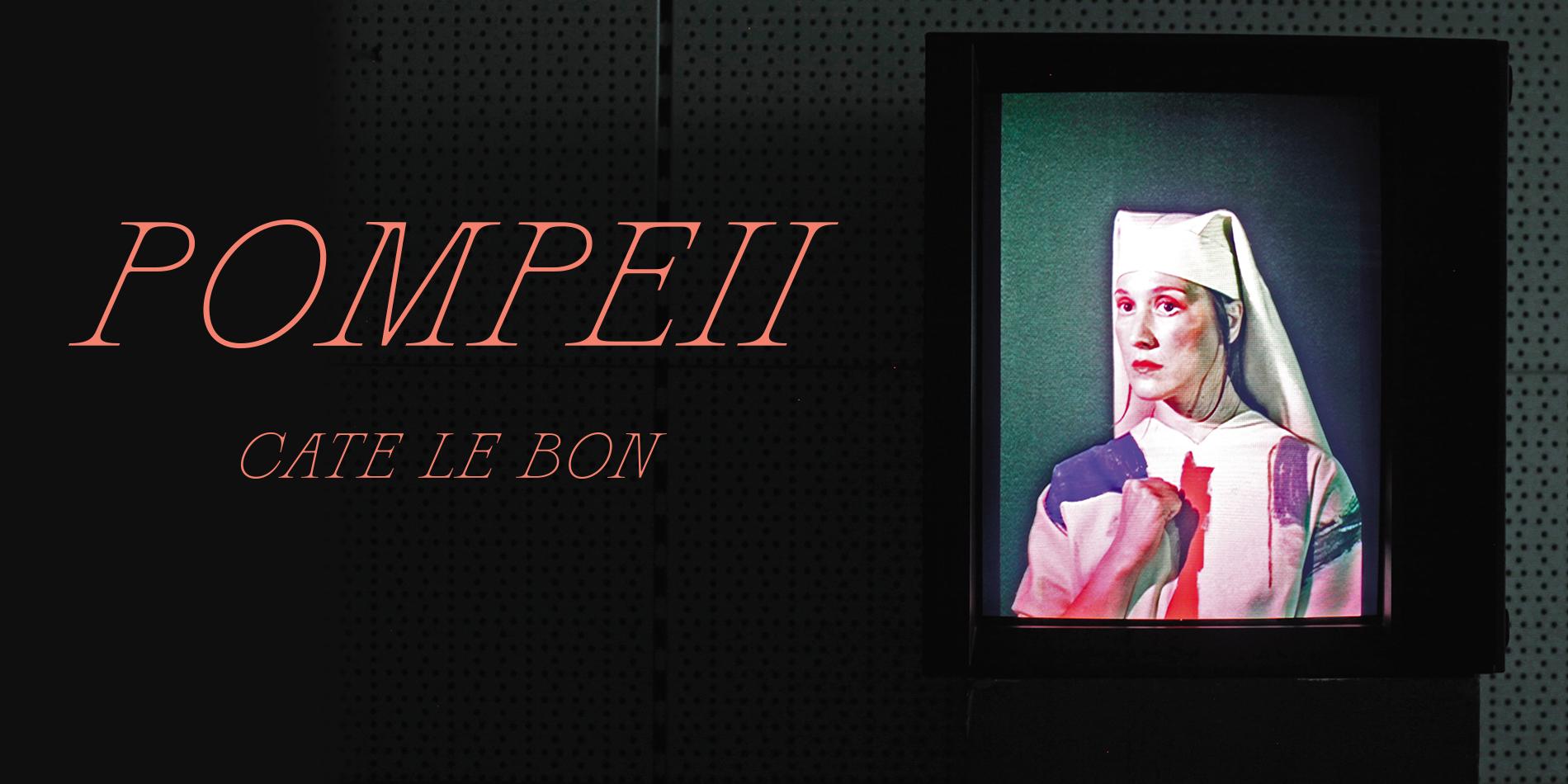cate le bon pompeii site banner